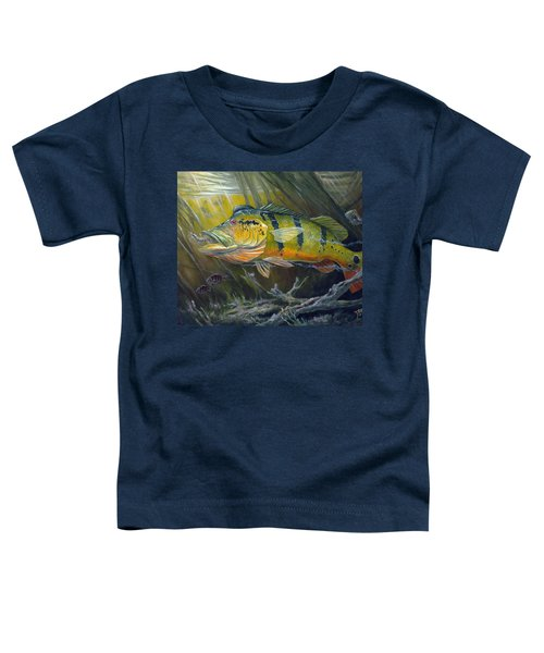 The Great Peacock Bass Toddler T-Shirt