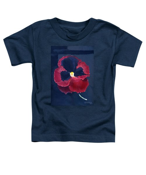 The Pansy Toddler T-Shirt