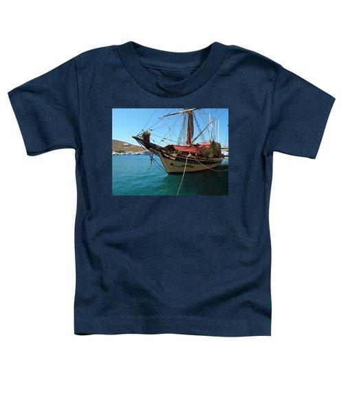 The Pirate Ship  Toddler T-Shirt