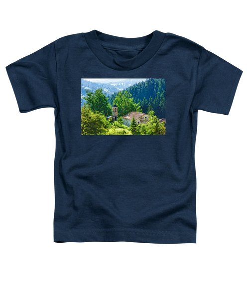 The Village Church - Impressions Of Mountains And Forests Toddler T-Shirt