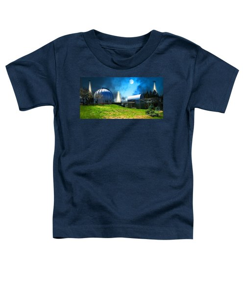 The Visitors At The Chabot Space And Science Center In The Hills Of Oakland California Dsc912 V1 Toddler T-Shirt