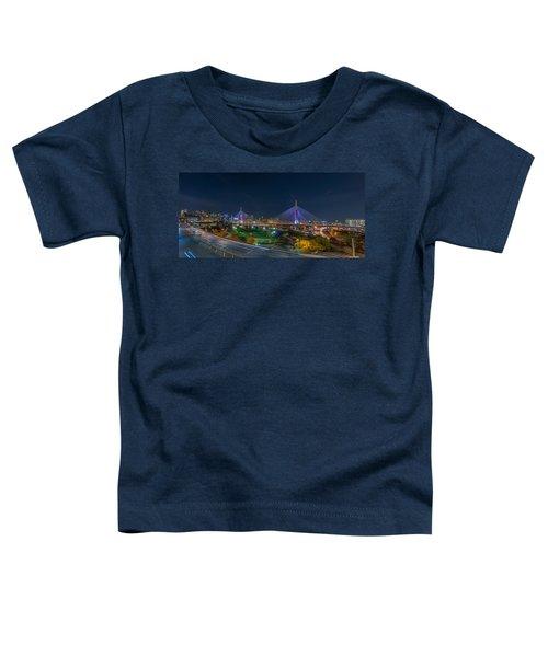 The Zakim Bridge Toddler T-Shirt