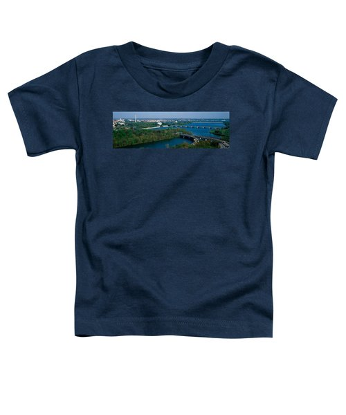 This Is An Aerial View Of Washington Toddler T-Shirt by Panoramic Images