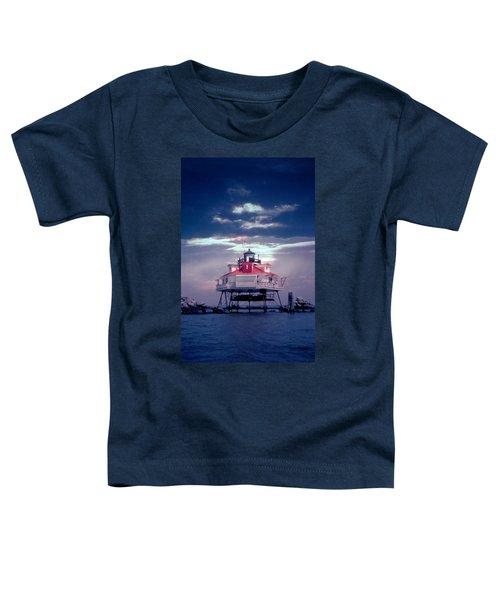 Thomas Pt.  Shoal Lighthouse Toddler T-Shirt