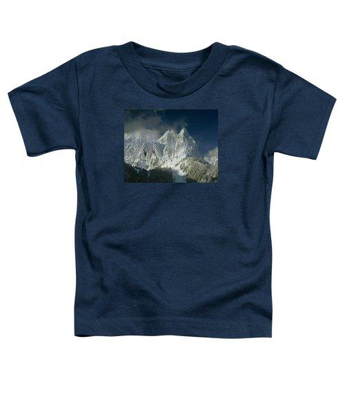 1m4503-three Peaks Of Mt. Index Toddler T-Shirt