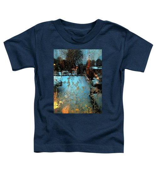 Toddler T-Shirt featuring the photograph Through The Window by Colette V Hera  Guggenheim