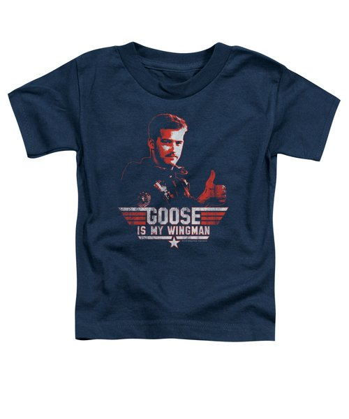 Top Gun - Wingman Goose Toddler T-Shirt by Brand A