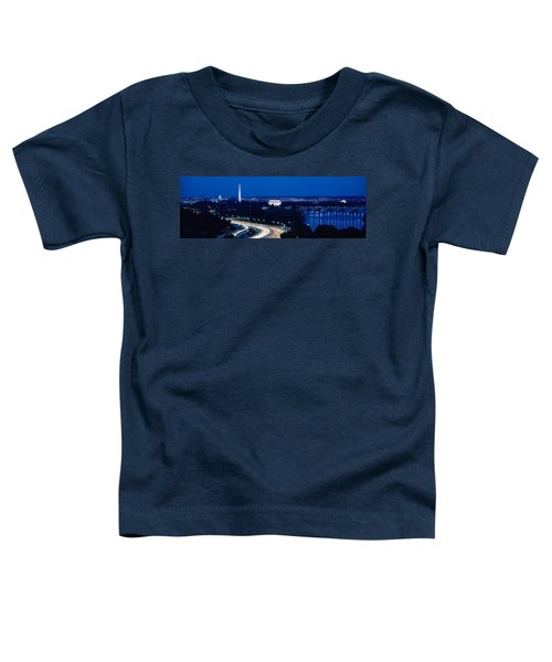 Traffic On The Road, Washington Toddler T-Shirt by Panoramic Images