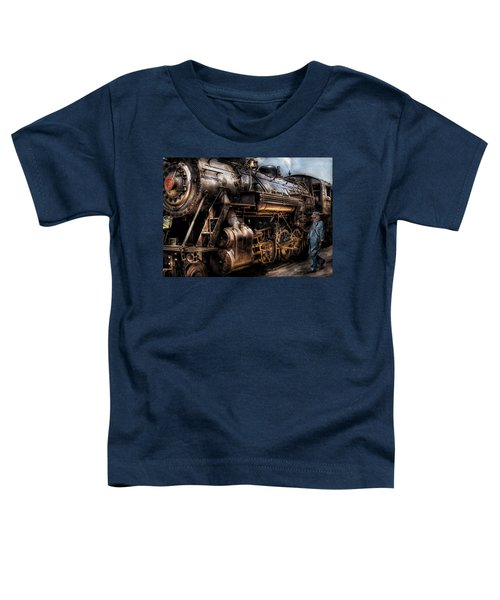 Train - Engine -  Now Boarding Toddler T-Shirt