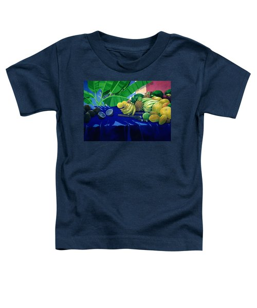 Tropical Fruit Toddler T-Shirt by Lincoln Seligman