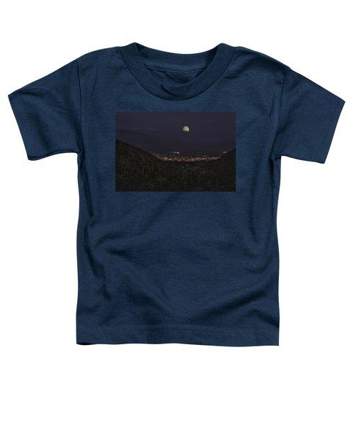 Tucson At Dusk Toddler T-Shirt by Lynn Geoffroy