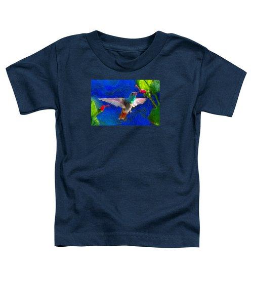 Da052 Turkscap Hummingbird  Toddler T-Shirt