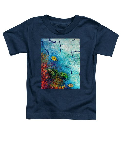 Turtle Wall 1 Toddler T-Shirt
