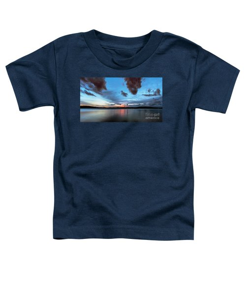 Twilight On Lake Lanier Toddler T-Shirt
