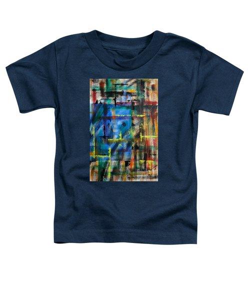 Blue Wall Toddler T-Shirt