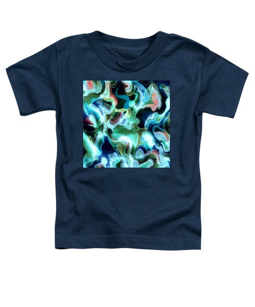 Lets Swim To The Moon Toddler T-Shirt