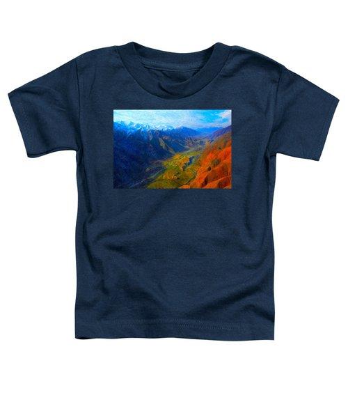 Valley Shadows Toddler T-Shirt