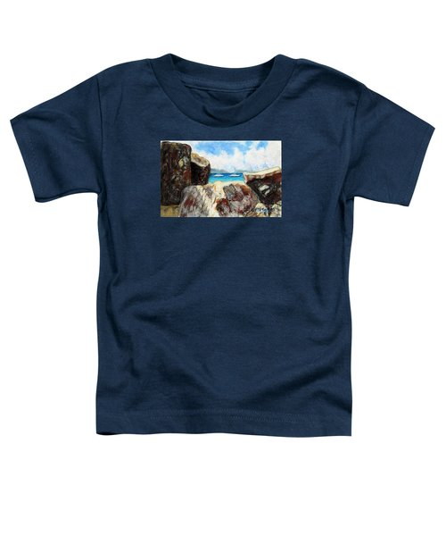 View Of Devil's Bay Toddler T-Shirt