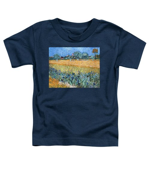 Field With Flowers Near Arles Toddler T-Shirt
