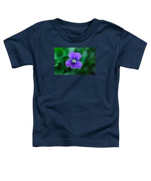 Violet Splendor Toddler T-Shirt