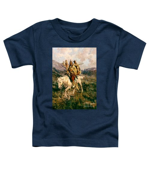 Visit To Another Tribe Toddler T-Shirt