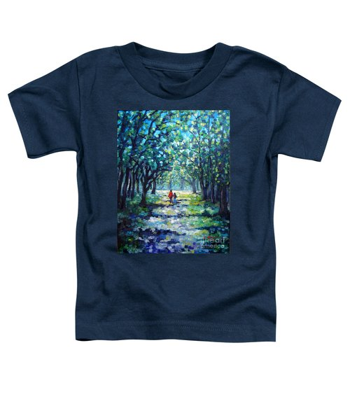 Walking In The Park Toddler T-Shirt