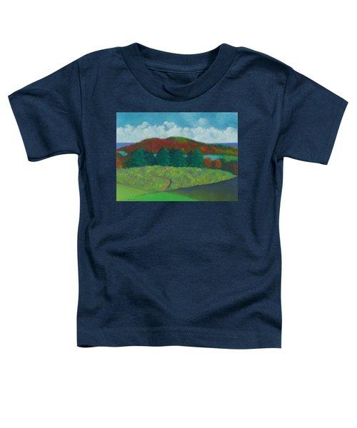Walking Meditation Toddler T-Shirt