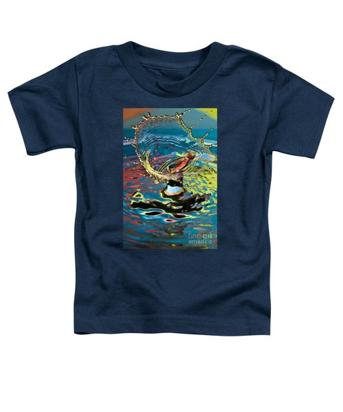 Water Splash Exploding Toddler T-Shirt