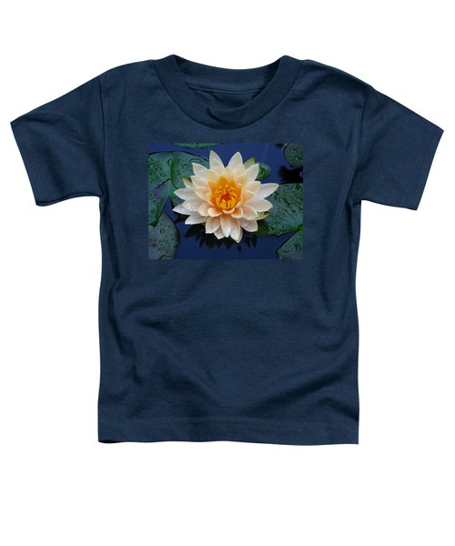 Waterlily After A Shower Toddler T-Shirt