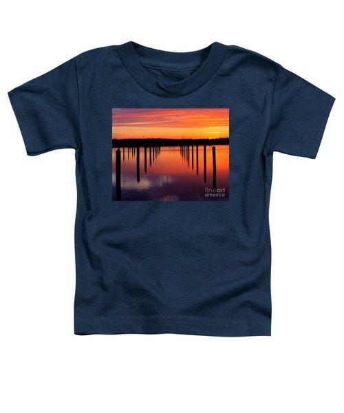 Winchester Bay Sunset Toddler T-Shirt
