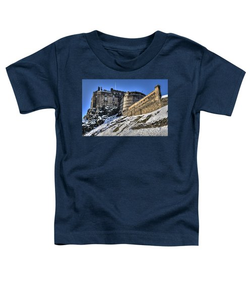 Winter At Edinburgh Castle Toddler T-Shirt
