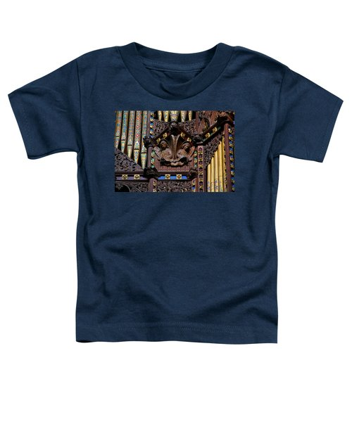 Wooden Angels Ely Cathedral Toddler T-Shirt