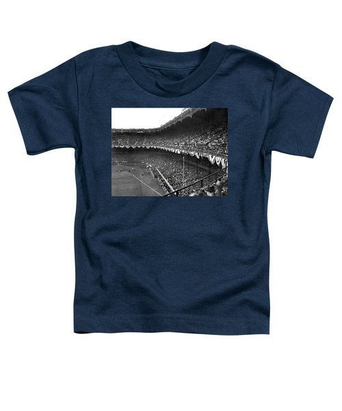 World Series In New York Toddler T-Shirt by Underwood Archives