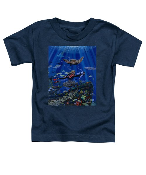 Wreck Divers Re0014 Toddler T-Shirt