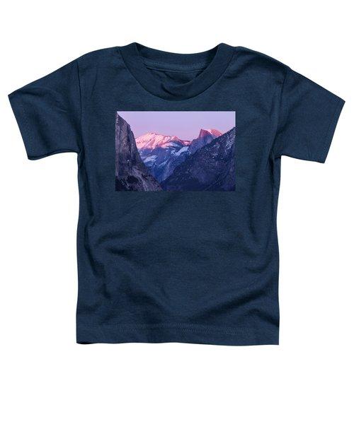 Yosemite Valley Panorama Toddler T-Shirt