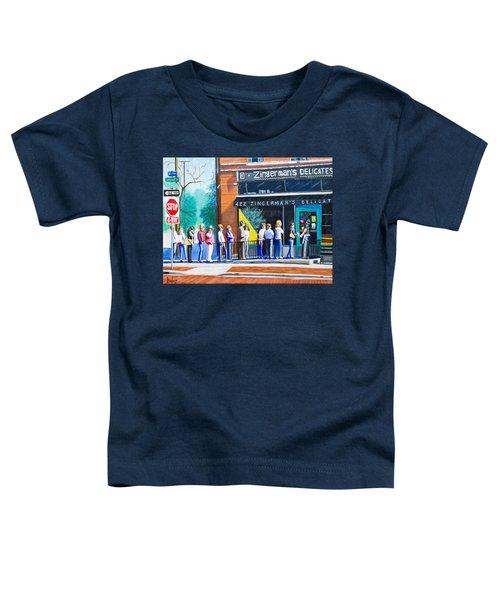 Zingerman's Deli Toddler T-Shirt