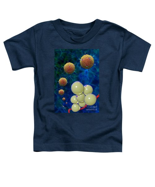 Adenovirus 36 And Fat Cells Toddler T-Shirt