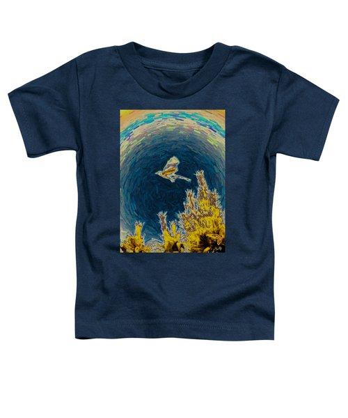 Bluejay Gone Wild Toddler T-Shirt