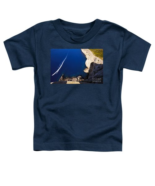 Boat In The Sea Toddler T-Shirt