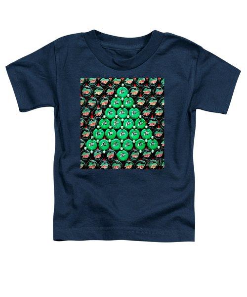 Bottle Caps Christmas Tree Toddler T-Shirt