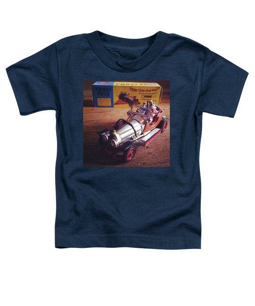 Chitty Chitty Bang Bang Corgi Toy Toddler T-Shirt