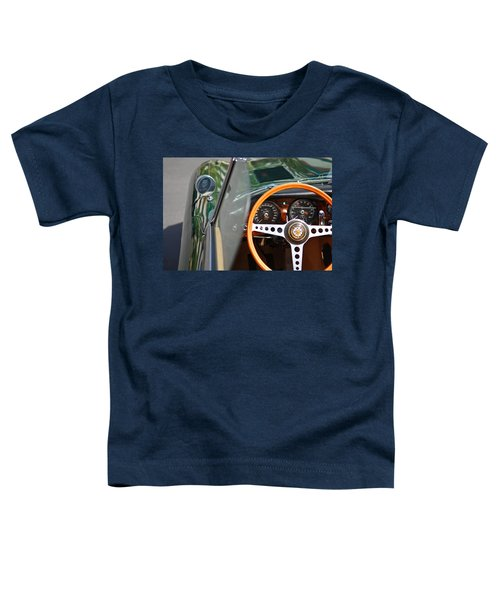 Classic Green Jaguar Artwork Toddler T-Shirt