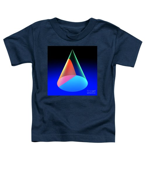 Conic Section Hyperbola 6 Toddler T-Shirt