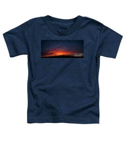 Expansive Sunset Toddler T-Shirt