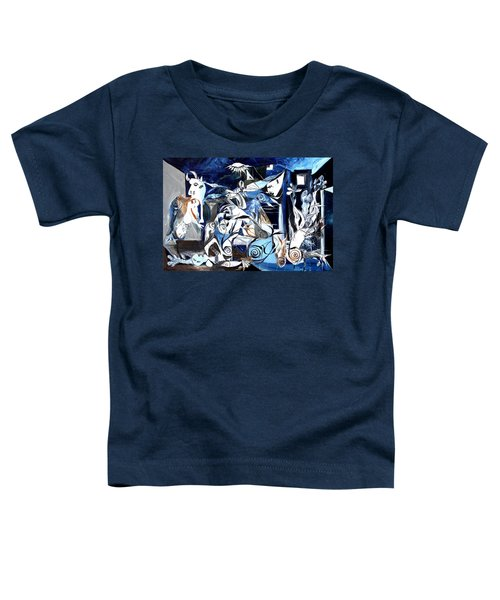 Fish Guernica Toddler T-Shirt