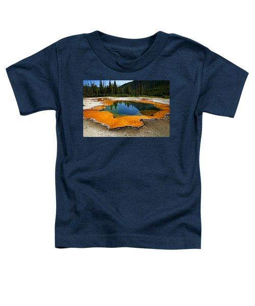 Hot Springs Yellowstone Toddler T-Shirt