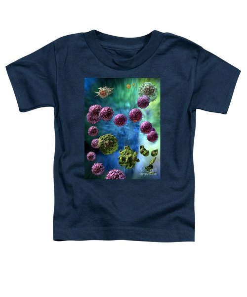 Immune Response Cytotoxic 3 Toddler T-Shirt