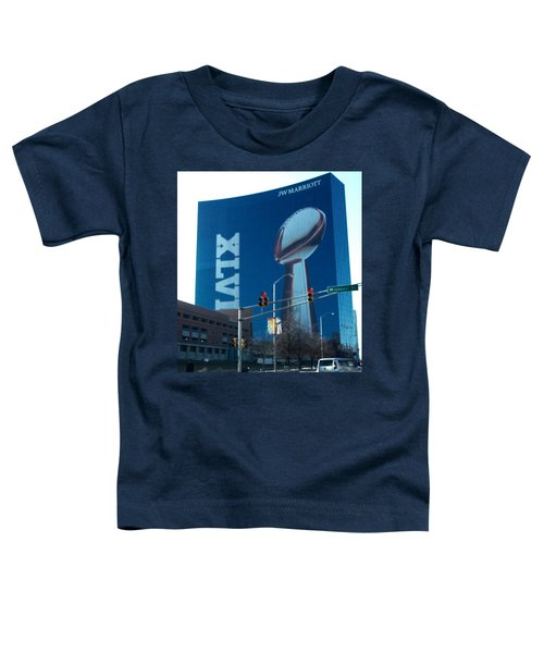 Indianapolis Marriott Trubute To Super Bowl 46 Toddler T-Shirt