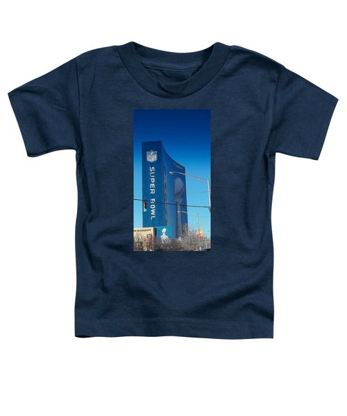 Indianapolis Marriott Welcomes Super Bowl 46 Toddler T-Shirt