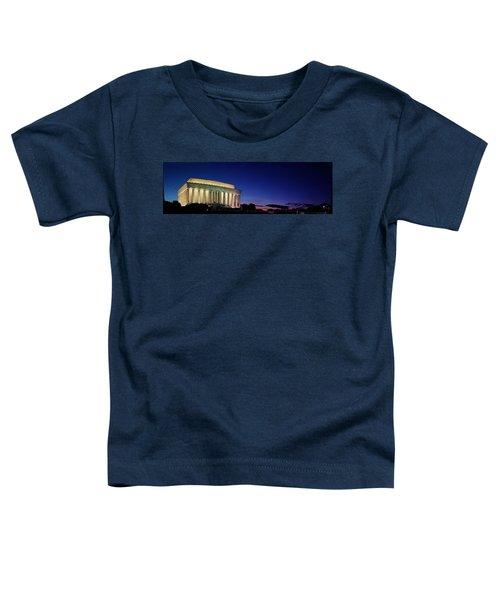 Lincoln Memorial At Sunset Toddler T-Shirt